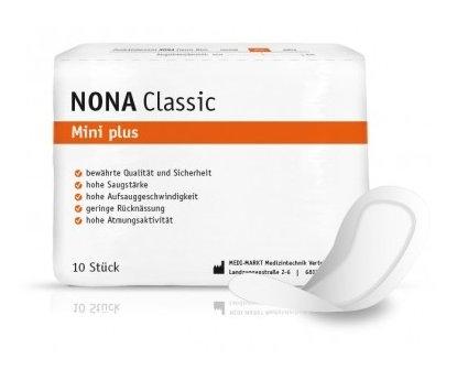 Nona Classic Mini plus Einlage ,10er Packung