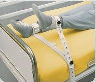SEGUFIX-Fusshalterung fuer Erwachsene 21 - 27 cm (Gr. M), mit Magnetverschluss , extra lange Ausf.