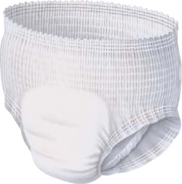 Tena Pants Super Large , Einzelstueck , weiss/gruen