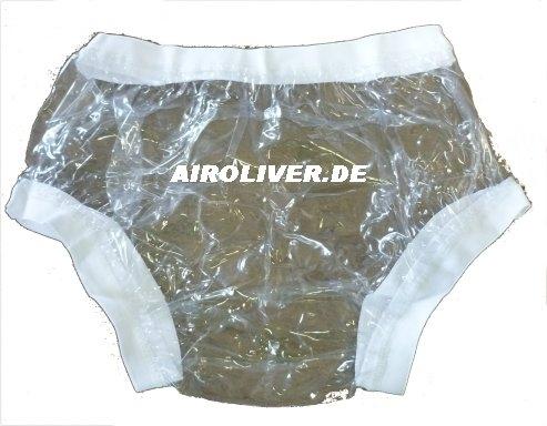 2207 PVC Ueberziehschutzhose No.1003 glasklar breiter Bund