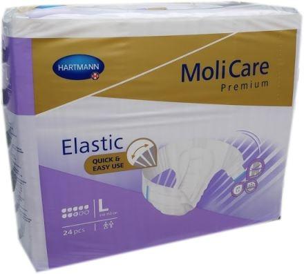 Molicare Premium Elastic super plus, large weiss/lila ,15.25.03.1128 ,24er Packung