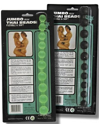 "Analkette ""Jumbo Beads"" sw"