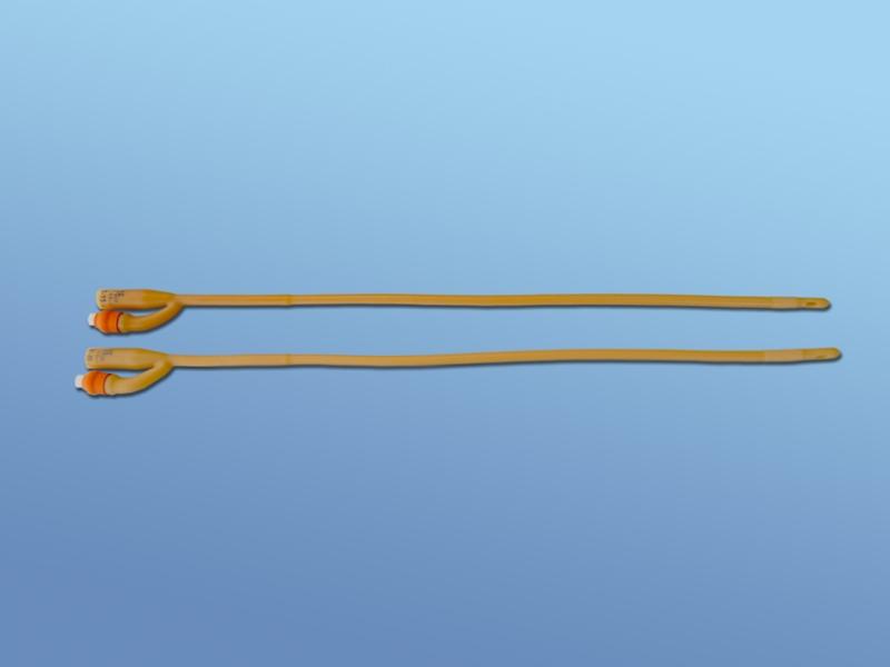DH. Silikonisierter-Latex-Ballonkatheter 2-Weg CH18 30-45ml 23.100.24.218