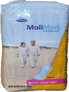 Molimed Premium MICRO LIGHT 15.25.01.5082 ,14er Packung