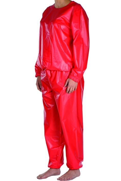 Suprima Schlafanzug aus PVC Folie 2-Teiler No.9612, Sonderanfertigung