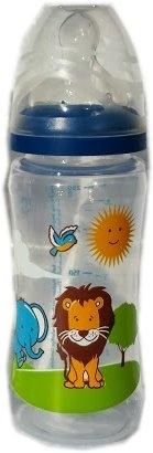 Babycare PP-Weithalsflasche mit Motiv 250ml Flasche