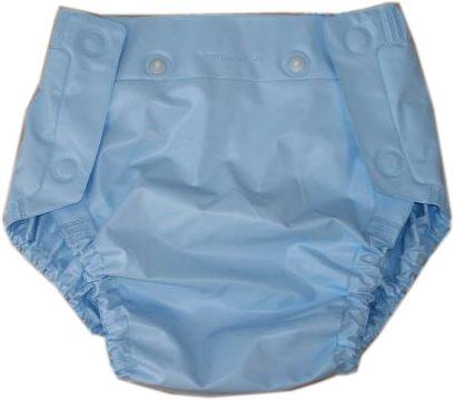 Septor Inkontinenz-Schutzhose knoepfbar , hellblau