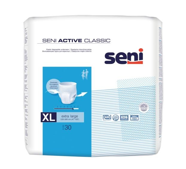 Seni Active Classic Pants xlarge ,15.25.31.5037 ,30er Packung