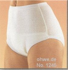 Suprima Slip 100% Baumwolle , weiss Nr.1245