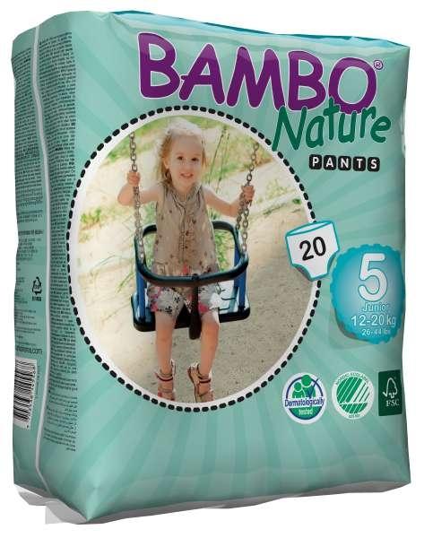 Bambo Trainings Pants Junior Groesse 5 ,12-20kg , 20er Packung