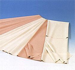 JH.Bettschutzeinlage aus Gummi 120x90cm Cremefarben