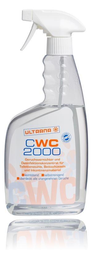 CWC 2000 Geruchsvernichter 500ml Spruehflasche 54.99.02.0002 von Ultrana