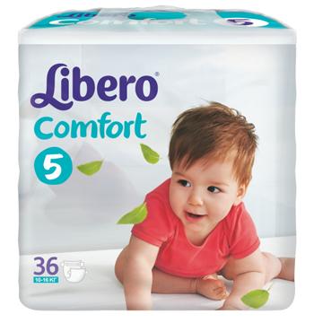 Libero Comfort Windel MAXI Plus Gr.5 10-14 kg 1x24 Packung