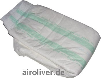 Forma-Care Windelhose Sensitive x-Plus Gr.L weiss/gruen , Einzelstueck