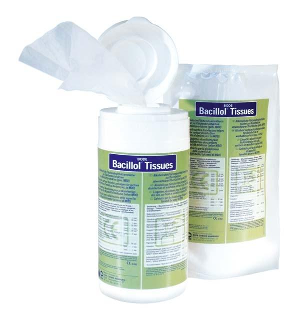 Bacillol Tissues Nachf. Flaechendesf. 100st.
